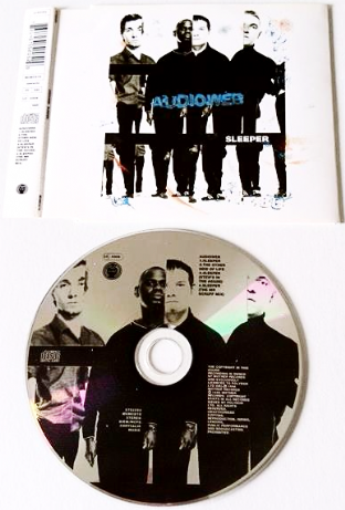 Audioweb ‎- Sleeper (CD Single Pt 1) (G/VG)